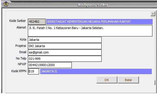 Update Aplikasi GPP Satker versi 1 Mei 2013   [Added: Kamis, 2 Mei 2013]