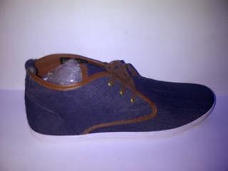Sepatu Zara High navy grosir