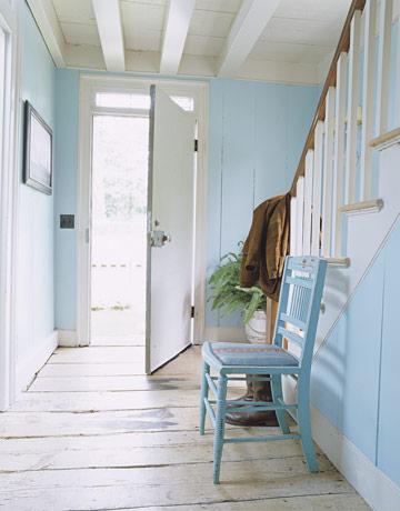 Hallway paint chosen benjamin moore iceberg jill for Benjamin moore eco spec paint reviews