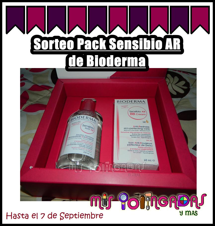 Sorteo Pack Sensibio AR de Bioderma