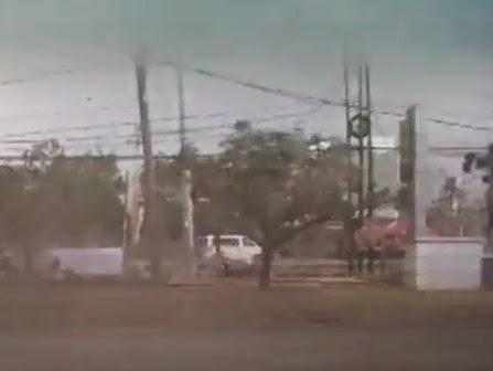 Video Puting Beliung Terjang Bandung Timur