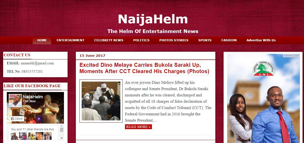 Get NaijaHelm Responsive Template