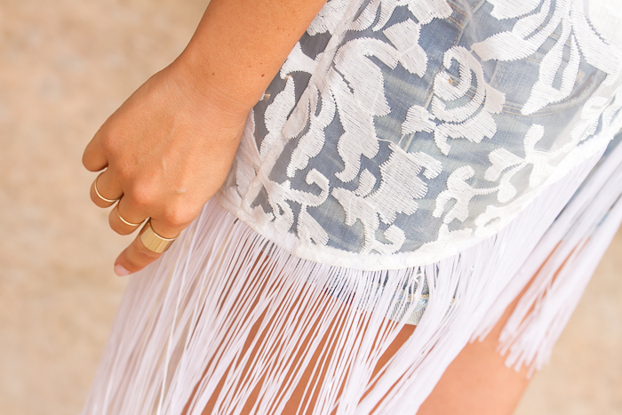 Blogue de mode - débardeur blanc + kimonodentelle blanche