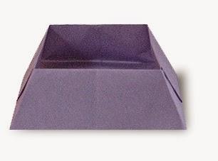 Hướng dẫn cách gấp cái hộp giấy đựng kẹo - Xếp hình Origami với Video clip