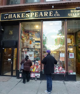 shakespeare and company bookstore nyc