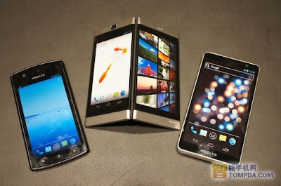 NEC Medias W handphone 2 layar, android keren, gambar ponsel canggih terbaru