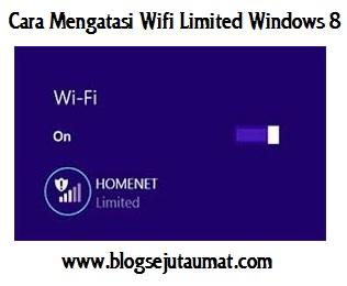 Cara Mengatasi Limited Connection pada Windows 8.1