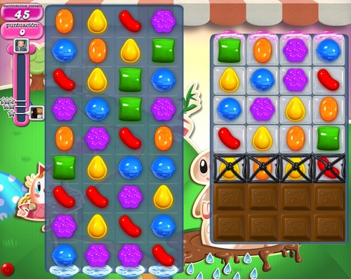 Nivel 70 Candy Crush Saga