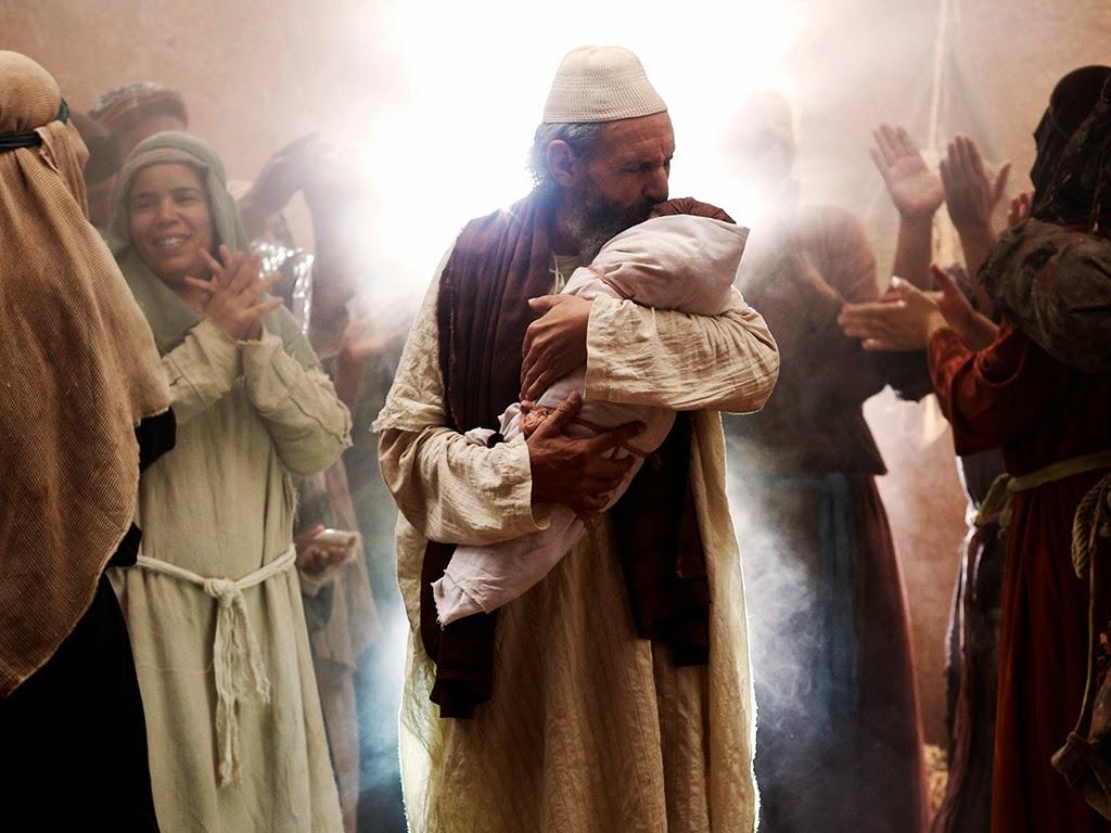 Zechariah and elizabeth baby