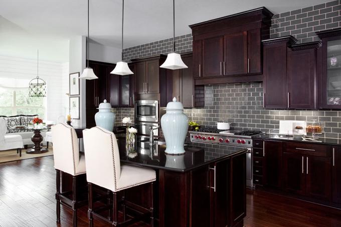 Kitchen Backsplash Above Cabinets tapper richards interiors: kitchen designwhat to do above the