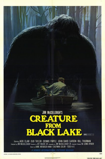 The Creature From Black Lake Poster