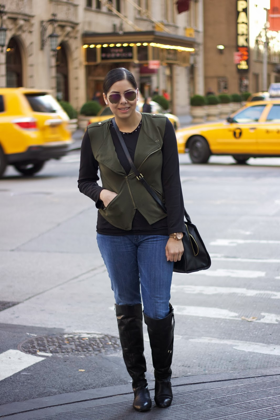 military chic in NYC
