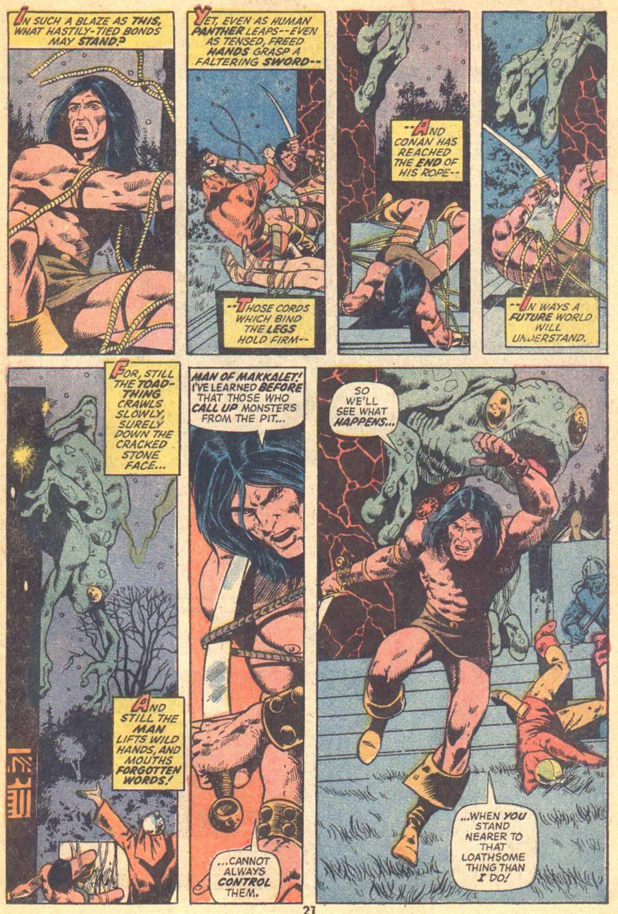 Conan the Barbarian (1970) Issue #21 #33 - English 16