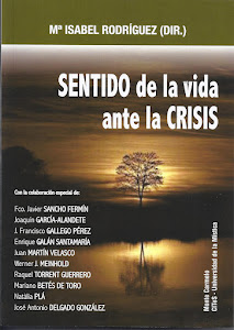 "COMPRA EL LIBRO ""SENTIDO DE LA VIDA ANTE LA CRISIS"""