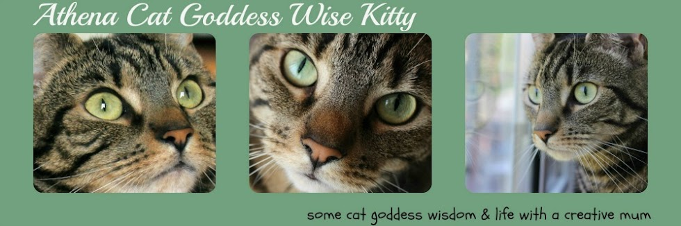 Athena Cat Goddess Wise Kitty