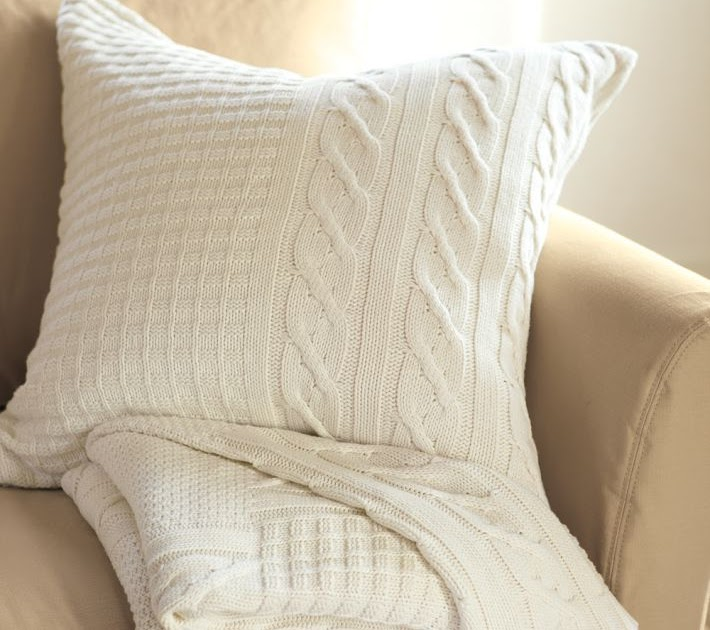 Of Sage and Sepia: Pottery Barn- Inspired Pillows
