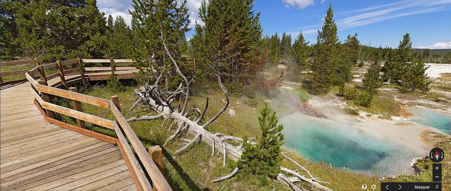 Google Maps - Yellowstone