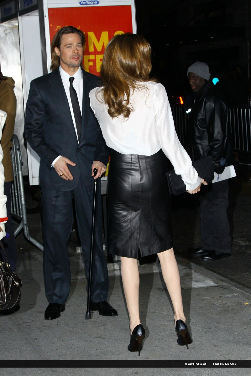 Angelina Jolie Leather