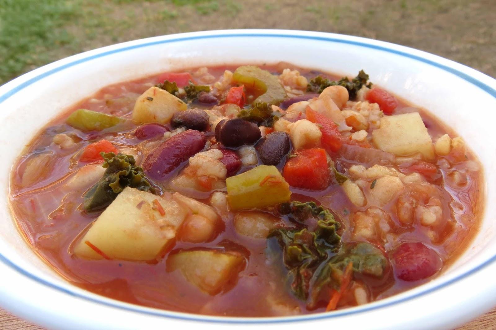 Veggie ThymeMinestrone Soup
