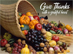 Giving thanks.