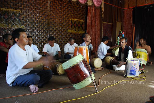Wayang Kulit Musicians Kelantan