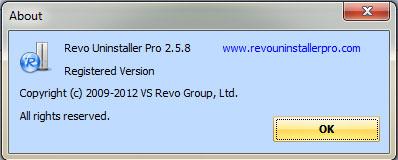 Revo Uninstaller Pro 2.5.8 Full Version