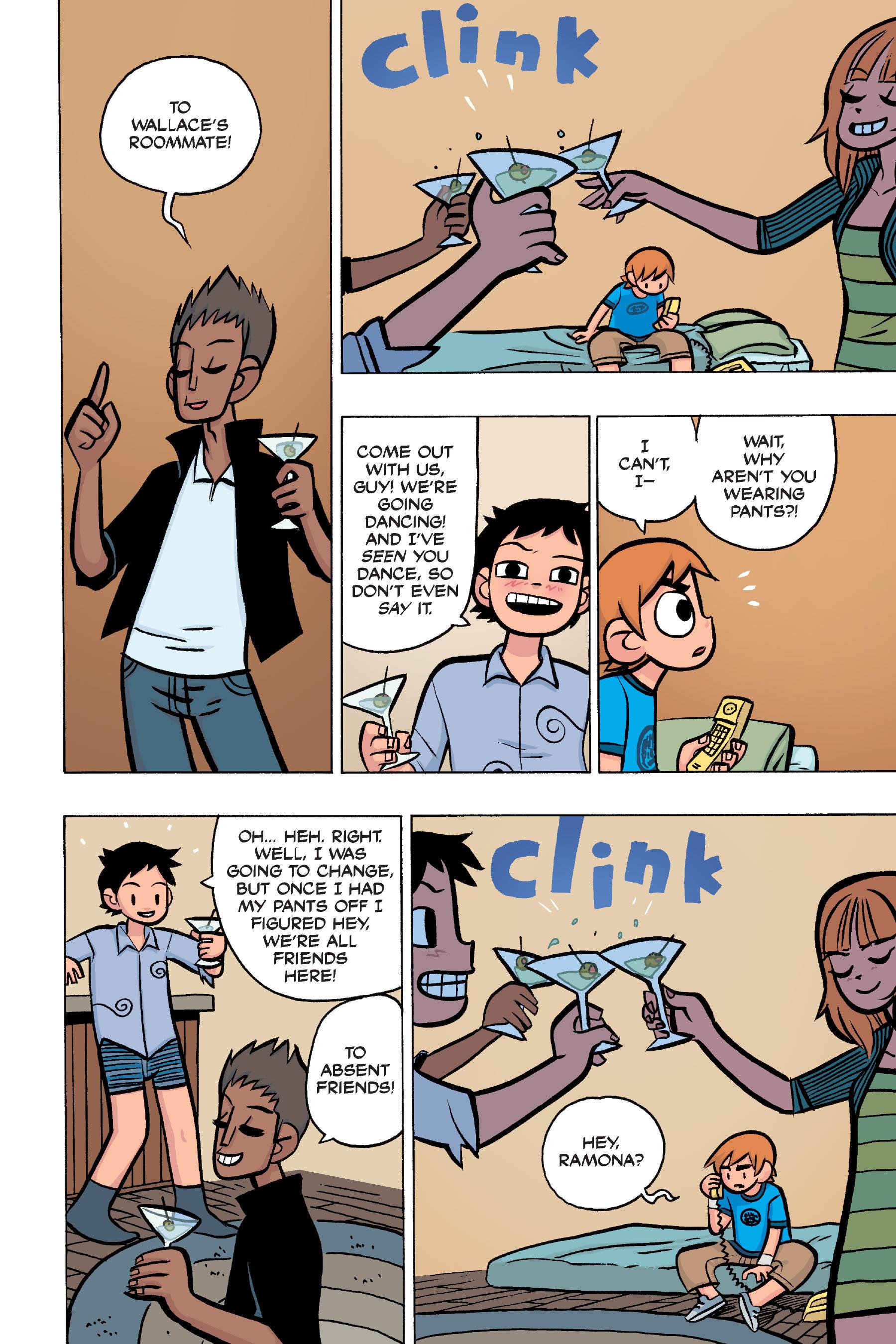 Read online Scott Pilgrim comic -  Issue #4 - 73