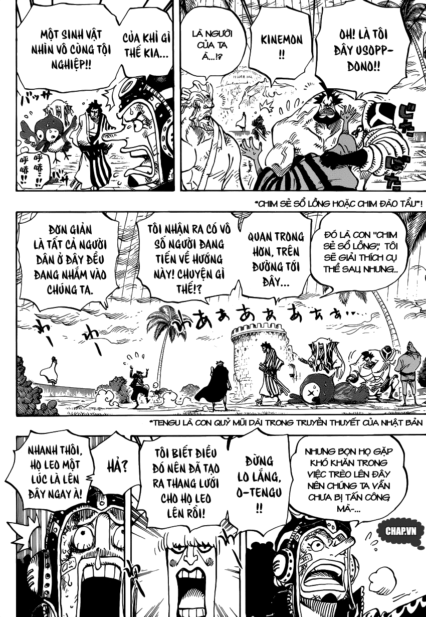 One Piece Chapter 756: Tầng 4 003