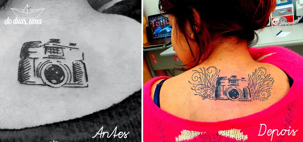 before and after tattoo photography