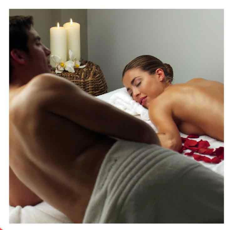 Relájate en San Valentín con tu pareja