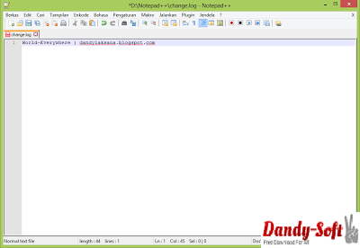 Notepad++ 6.5.2