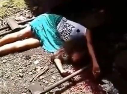 Brutal Suicidio de Tren