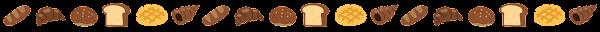 パンのライン素材