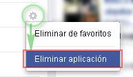 Eliminar app Facebook + MasFB