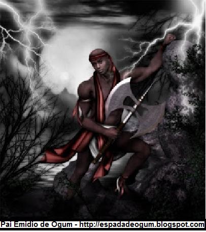 Umbanda - Espada de Ogum: Orixá de 2014 Xangô
