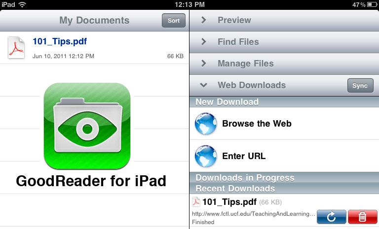 good pdf reader for ipad ebook