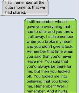 tu recordaras lo bueno