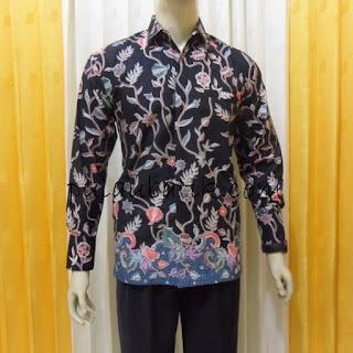 Foto Baju Batik Cowo Lengan Panjang