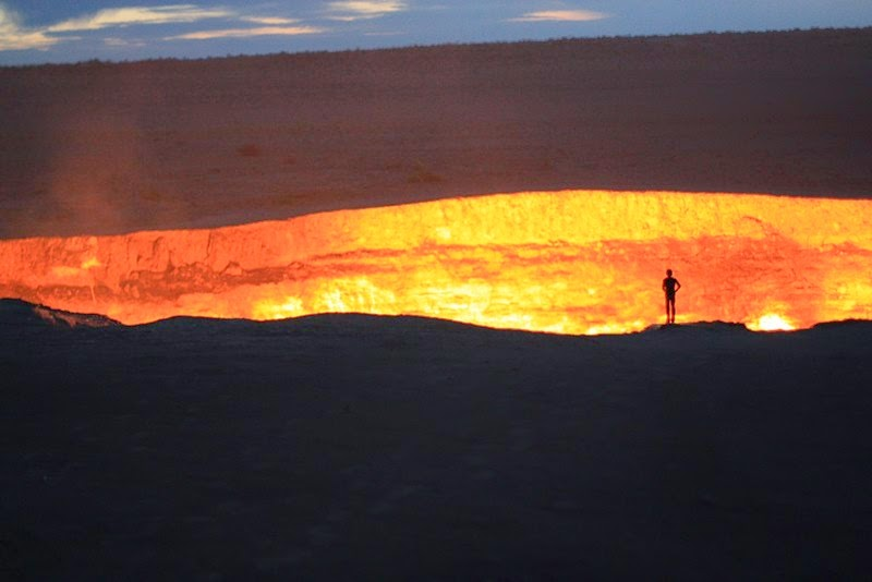 The Door to Hell | Derweze, Turkmenistan