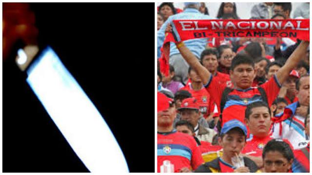 apuñalan hincha de El Nacional