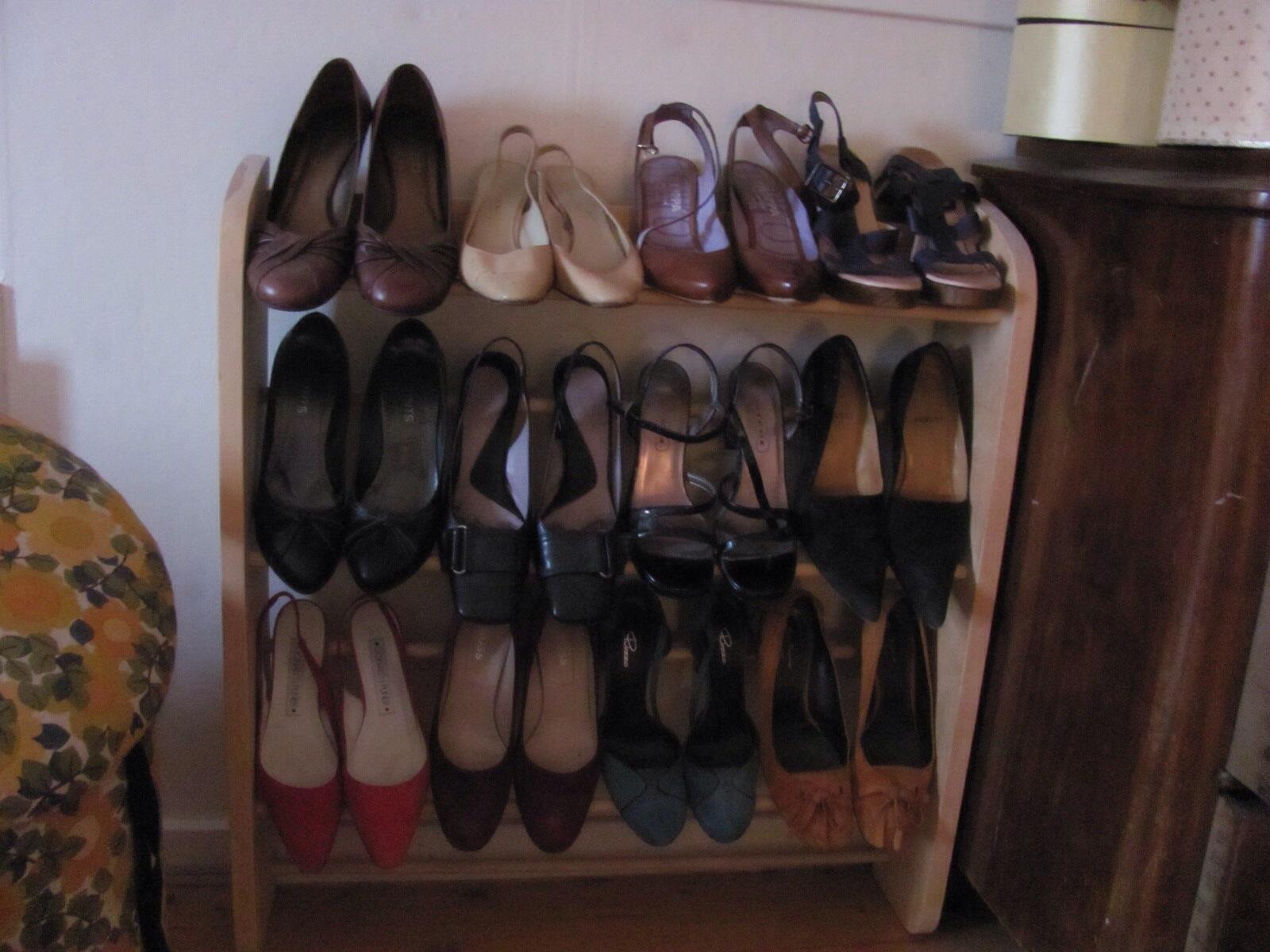 snekkerprosjekter til Skostativ Skostativ høyhælte snekkerprosjekter sko wOqY4Ofxn