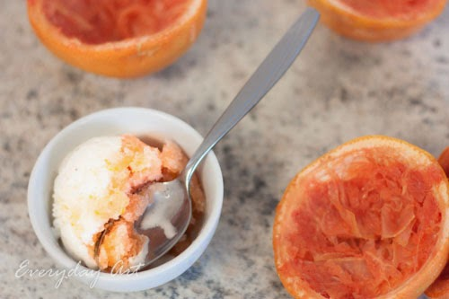 Grapefruit Creamsicle Ice Cream Recipe