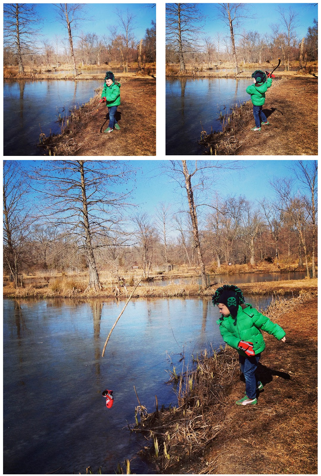 Not So Sahm Keep It Local Kenilworth Park And Aquatic Gardens In Winter