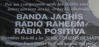 entrada de concierto de banda jachis
