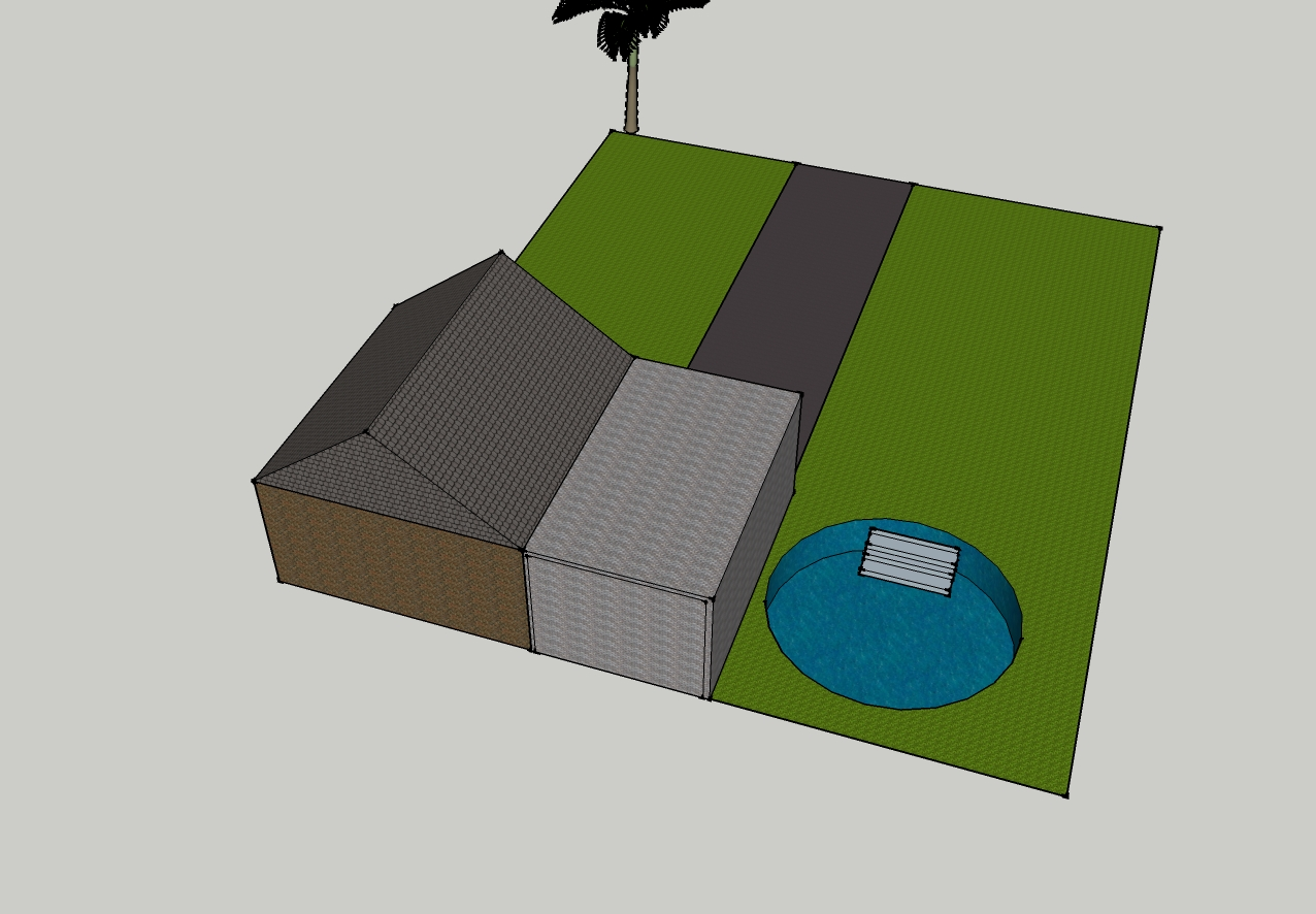 Google SketchUp House Templates