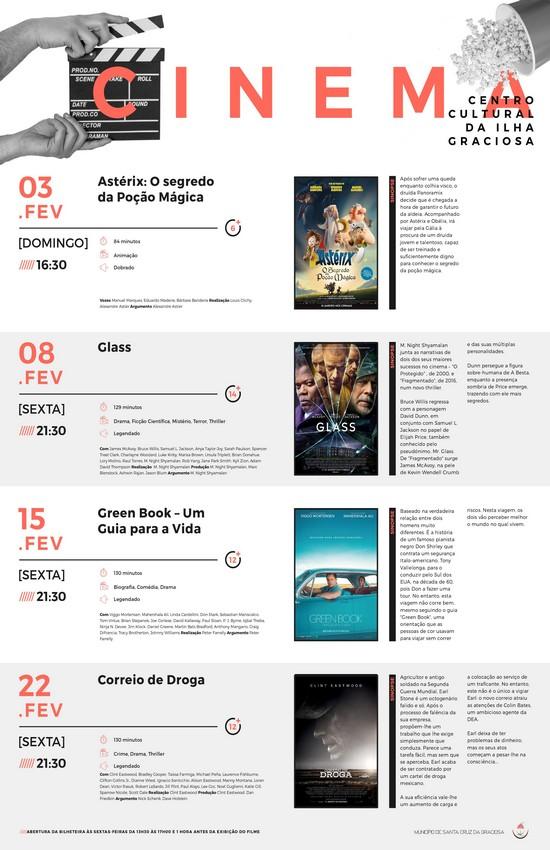 Cinema Fevereiro 2019