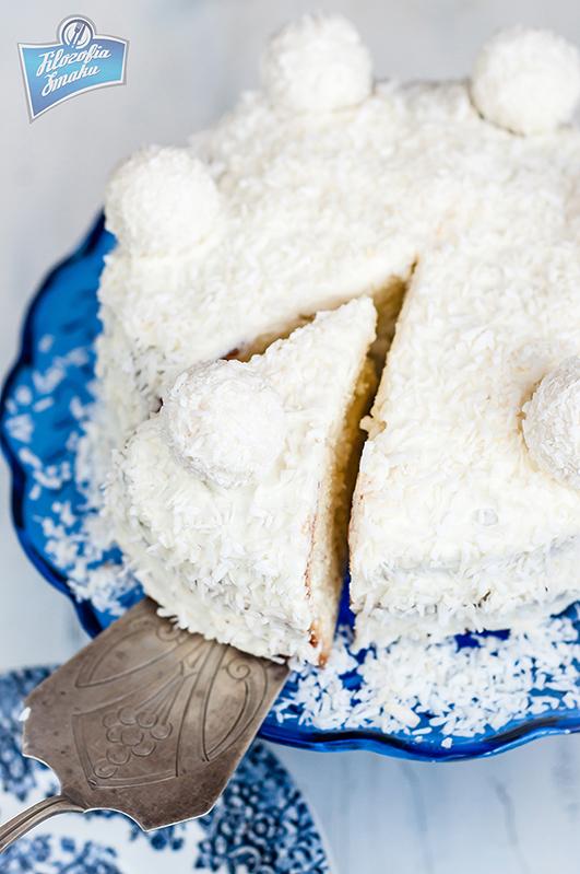 Tort kokosowy przepis