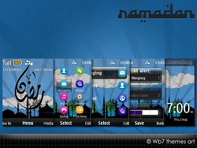 Nokia X2-02,x2-05,asha,306,X2-00 theme ramadan available free version