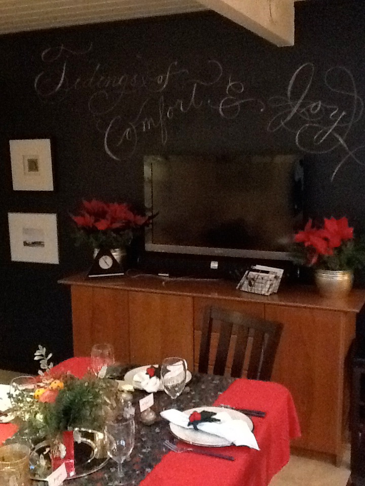 Mil Plumas Calligraphy: Christmas Past