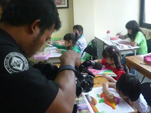 OHAYO Drawing School @ Trans 7, acara Warna